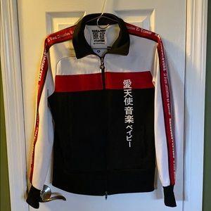 Gwen Stefani's Harajuku Lovers Zip-Up jacket